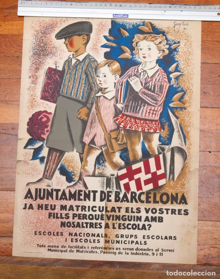 Cartel Ajuntament De Barcelona Josep Obiols Sold Through Direct Sale 134082850