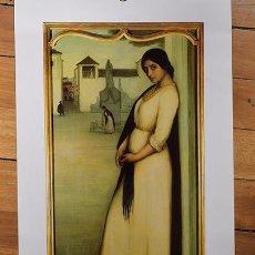 Coleccionismo de carteles: JULIO ROMERO DE TORRES - 6 LÁMINAS DE GRAN CALIDAD Y TAMAÑO - CALENDARIO ROCA 1983. Lote 135373074