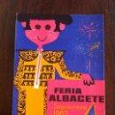 Coleccionismo de carteles: FERIA DE ALBACETE 1962. SEPTIEMBRE. CARTEL. TOROS. LIT. ORTEGA. Lote 135713367