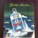 Coleccionismo de carteles: CARTEL GINEBRA AROMÁTICA ICEBERG. ESPECIAL PARA COMBINADOS. PUBLICIDAD CARTÓN. ORIGINAL.. Lote 135714175