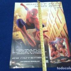 Coleccionismo de carteles: MINI POSTER ( SPIDER MAN ) 2002 MARVEL. Lote 135770946