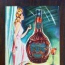 Coleccionismo de carteles: LICOR ESTOMACAL EVA. CARTEL PUBLICITARIO DE CARTÓN. ORIGINAL. Lote 135774950