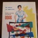 Coleccionismo de carteles: ODAG ANUNCIO PUBLICIDAD NEVERA ELÉCTRICA. TRASERA COCINAS FAR SEDAVÍ (VALENCIA). ORIGINAL. Lote 135780882