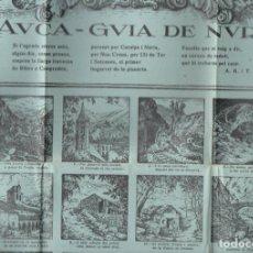 Coleccionismo de carteles: AUCA GUIA DE NURIA 41X64 CM. . Lote 136182882