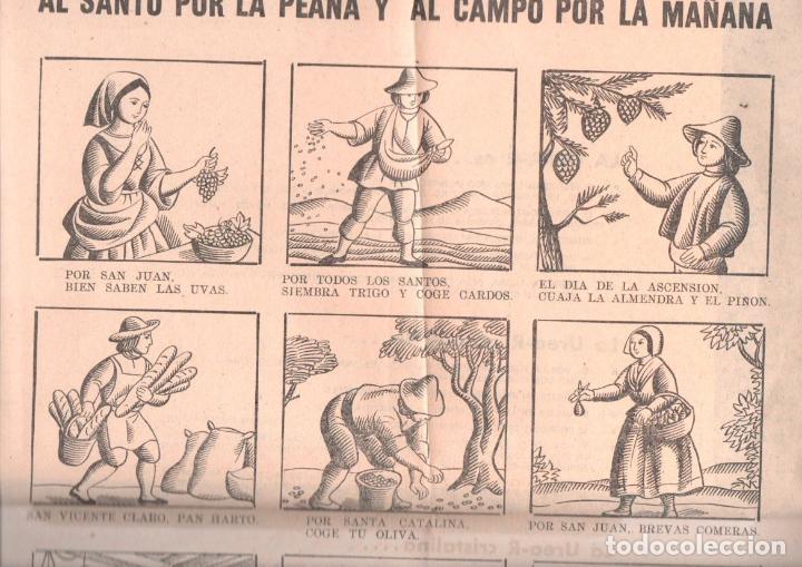 AUCA ALELUYAS REFINERÍA DE ESCOMBRERAS UREA (IMP. PUEYO, 1964) (Coleccionismo - Carteles Pequeño Formato)