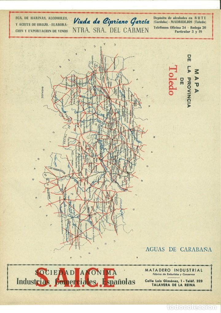 Coleccionismo de carteles: CARTEL PUBLICITARIO TOLEDO - Foto 2 - 137107106