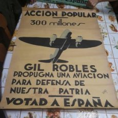 Coleccionismo de carteles: CARTEL GUERRA CIVIL. Lote 137253010