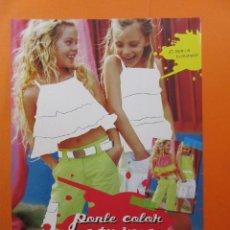 Coleccionismo de carteles: PUBLICIDAD 2006 - COLECCION ROPA - EL CORTE INGLES . Lote 139612914