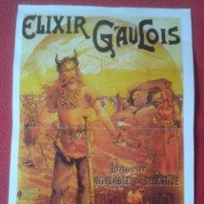 Coleccionismo de carteles: AFFICHE CARTE POSTER O SIMIL PUBLICIDAD ELIXIR GAULOIS LIQUEUR PARIS LYON FRANCIA FRANCE ADVERTISING. Lote 140253822
