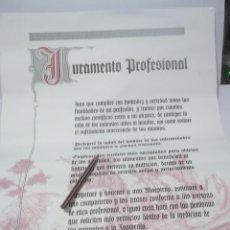 Colecionismo de cartazes: CARTEL JURAMENTO VETERINARIO . Lote 141247834