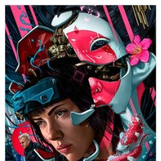 Collezionismo di affissi: GHOST IN THE SHELL. MASAMUNE. LÁMINA CARTEL POSTER. 45 X 32 CMS.. Lote 143363906