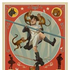 Coleccionismo de carteles: CHARLES CHAPLIN. THE CIRCUS. CARTEL LÁMINA POSTER 45 X 32 CMS.. Lote 206268503