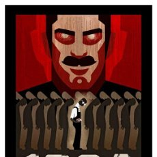Collectionnisme d'affiches: 1984 GEORGE ORWELL. CARTEL LÁMINA POSTER 45 X 32 CMS.. Lote 143380214
