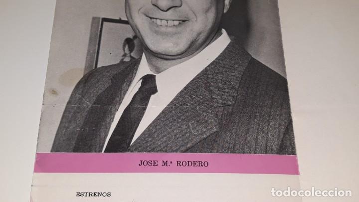 Coleccionismo de carteles: ANTIGUO PROGRAMA DE TEATRO COMPAÑIA DE COMEDIAS JOSE MARIN RODERO - LA PEREZA - ALICANTE AÑO 1971 - Foto 6 - 144923858