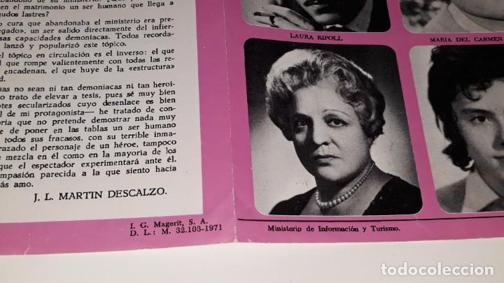 Coleccionismo de carteles: ANTIGUO PROGRAMA DE TEATRO COMPAÑIA DE COMEDIAS JOSE MARIN RODERO - LA PEREZA - ALICANTE AÑO 1971 - Foto 9 - 144923858