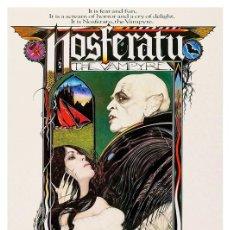 Coleccionismo de carteles: NOSFERATU. THE VAMPYRE. LÁMINA CARTEL POSTER 45X32 CMS.. Lote 221863026
