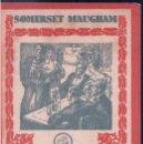 Coleccionismo de carteles: CARTEL EL FILO DE LA NAVAJA - SOMERSET MAUGHAM - NOVELA DE AUTOR - EXITO - 14 X 7 CM. Lote 145004446