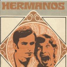 Coleccionismo de carteles: POSTER REVISTA ROMÁNTICA. HERMANOS CALATRAVA. 31X21 CM. AÑOS 70. BUEN ESTADO.. Lote 145072634