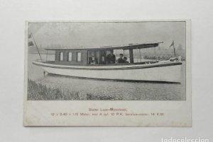 Stalen Luxe Motorboot