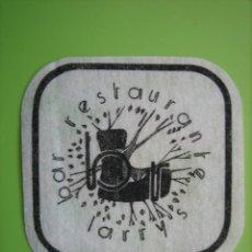 Coleccionismo de carteles: CARTELITO O POSA VASOS CON PUBLICIDAD. Lote 147932410