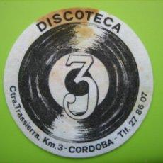 Coleccionismo de carteles: CARTELITO O POSA VASOS CON PUBLICIDAD. CÓRDOBA. Lote 147932942