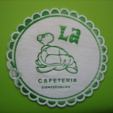 Coleccionismo de carteles: CARTELITO O POSA VASOS CON PUBLICIDAD. CIEMPOZUELOS. Lote 147933062