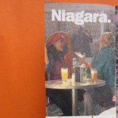 Coleccionismo de carteles: PUBLICIDAD - TABACO WINSTON NIAGARA - TAMAÑO 10.5 X 21 CM. Lote 148016634