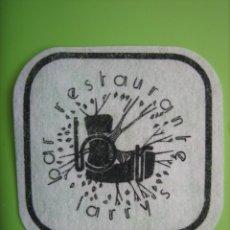Coleccionismo de carteles: CARTELITO O POSAVASOS CON PUBLICIDAD. . Lote 148094706