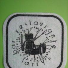 Coleccionismo de carteles: CARTELITO O POSAVASOS CON PUBLICIDAD. . Lote 148095194