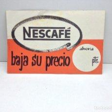 Coleccionismo de carteles: DISPLAY PUBLICITARIO NESCAFE - BAJA SU PRECIO . Lote 150272362