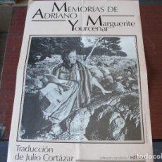 Coleccionismo de carteles: POSTER PUBLICITARIO LIBRERIA MEMORIAS DE ADRIANO / YOURCENAR CORTAZAR EDHASA - ENVIO GRATIS. Lote 150990086