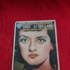 Coleccionismo de carteles: CARTEL DE CINE FORMATO PEQUEÑO. Lote 153824842
