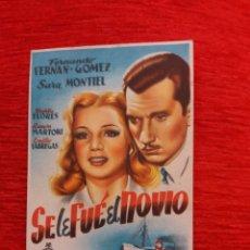 Coleccionismo de carteles: CARTEL DE CINE FORMATO PEQUEÑO. Lote 153825496
