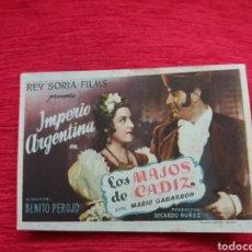 Coleccionismo de carteles: CARTEL DE CINE FORMATO PEQUEÑO. Lote 153825598