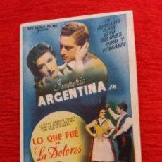 Coleccionismo de carteles: CARTEL DE CINE FORMATO PEQUEÑO. Lote 153825784