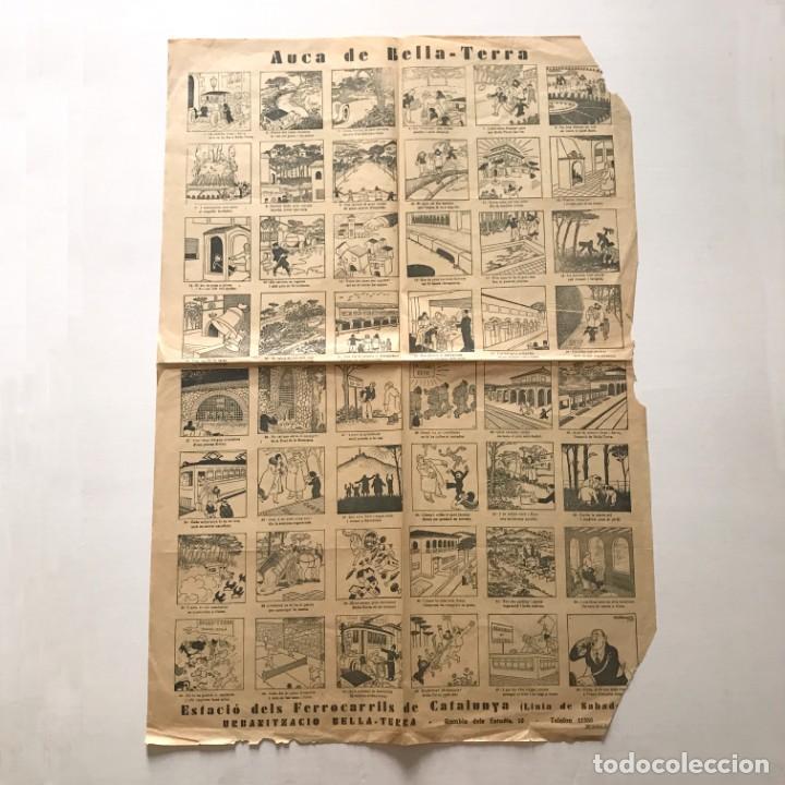 Coleccionismo de carteles: Auca de Bella -Terra 65x44,4 cm - Foto 2 - 155016762