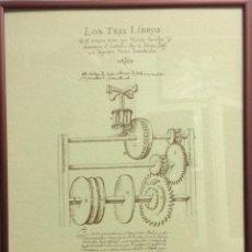 Coleccionismo de carteles: LÁMINAS DE RECUERDOS DE CIENTÍFICOS ESPAÑOLES. CON CRISTAL+MARCO METÁLICO, A ELEGIR ENTRE 4 MODELOS.. Lote 155867582