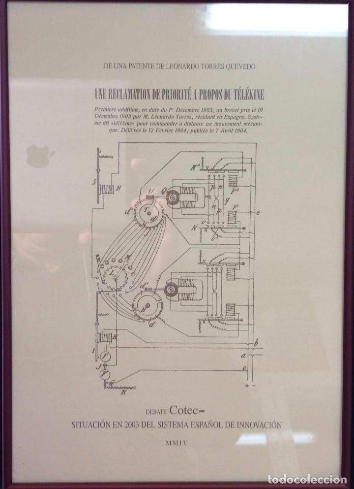 Coleccionismo de carteles: Láminas de recuerdos de científicos españoles. Con cristal+marco metálico, a elegir entre 4 modelos. - Foto 4 - 155867582