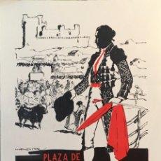 Coleccionismo de carteles: CARTEL PLAZA DE TOROS FREGENAL DE LA SIERRA ( BADAJOZ ) 22 SEPTIEMBRE 1986 15 X 32 CMS. Lote 156047026