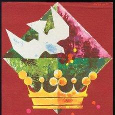 Coleccionismo de carteles: BARCELONA 1961 - CARTEL FIESTAS DE LA MERCED - DOMENECH. Lote 156640290