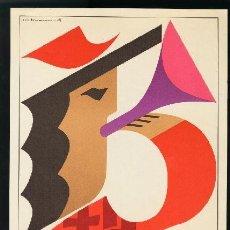 Coleccionismo de carteles: BARCELONA 1965 - CARTEL FIESTAS DE LA MERCED - RAMÓN RIBAS. Lote 156642334