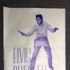 Coleccionismo de carteles: ELVIS PRESLEY. CARTEL ORIGINAL 34 X 27 CM., (H.1950?). Lote 156662269