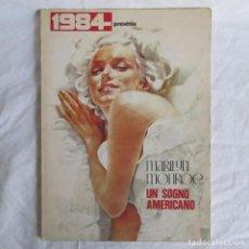 Colecionismo de cartazes: MARILYN MONROE UN SOGNO AMERICANO 1984 PEPE GONZÁLEZ. Lote 157450086