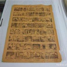Coleccionismo de carteles: ALELUYA - AUCA - AUCA DE POBLET . Lote 158365938