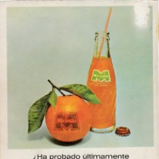 Collectionnisme d'affiches: HOJA PUBLICIDAD REVISTA ANTIGUA, MIRINDA. Lote 158427342