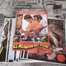 Coleccionismo de carteles: BRUCE LI IMITADOR DE BRUCE LEE ESCENA PELICULA EL RETORNO DEL TIGRE , 9 FOTOGRAMA. Lote 159158042