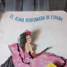 Coleccionismo de carteles: CARTEL DE CARTÓN TROQUELADO DE HENO DE PRAVIA.. Lote 159716150