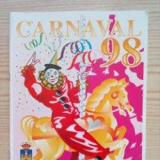 Coleccionismo de carteles: CARNAVAL 98 - EL PUERTO DE SANTA MARIA. Lote 160374906