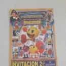 Coleccionismo de carteles: PAYOSOLANDIA PAC.MAN TEATRO COLEGIO DIVINA PASTORA..SALESIONOS LUGO. Lote 160445826