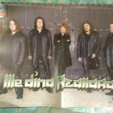Collectionnisme d'affiches: PÓSTER MEDINA AZAHARA (HEAVY ROCK). Lote 160536760
